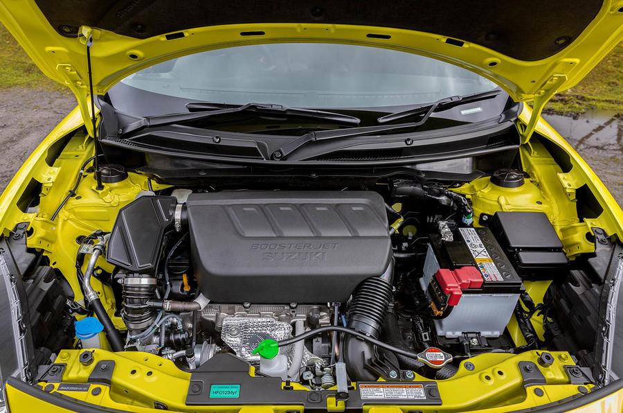 Suzuki Swift Sport 2018 review engine
