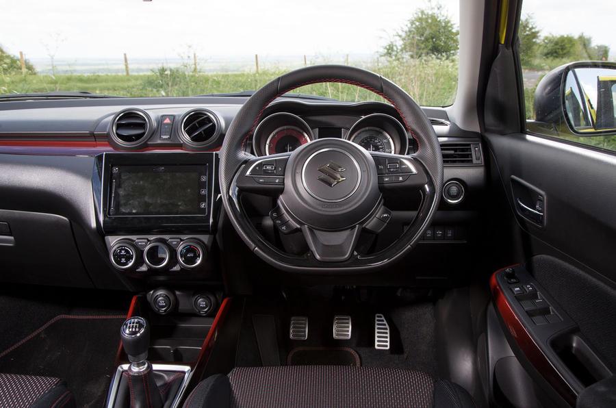 Suzuki Swift Sport 2018 long-term review dashboard