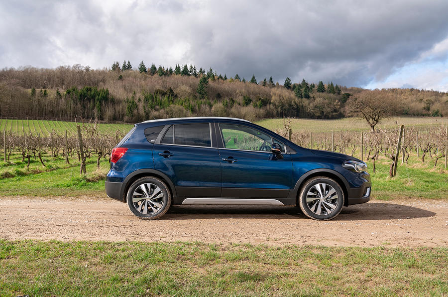 Suzuki SX4 S-Cross Hybrid 2020 UK first drive review - static side