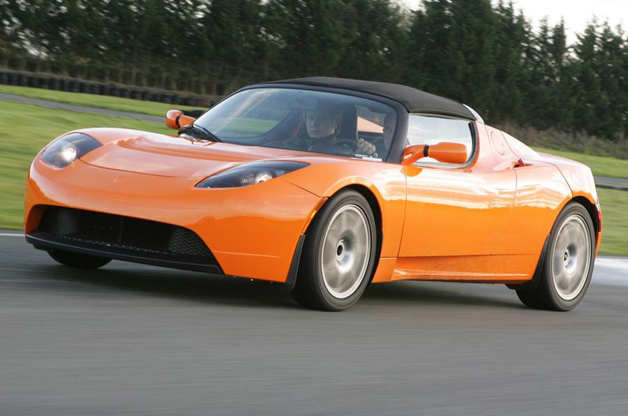 Tesla Roadster - hero front