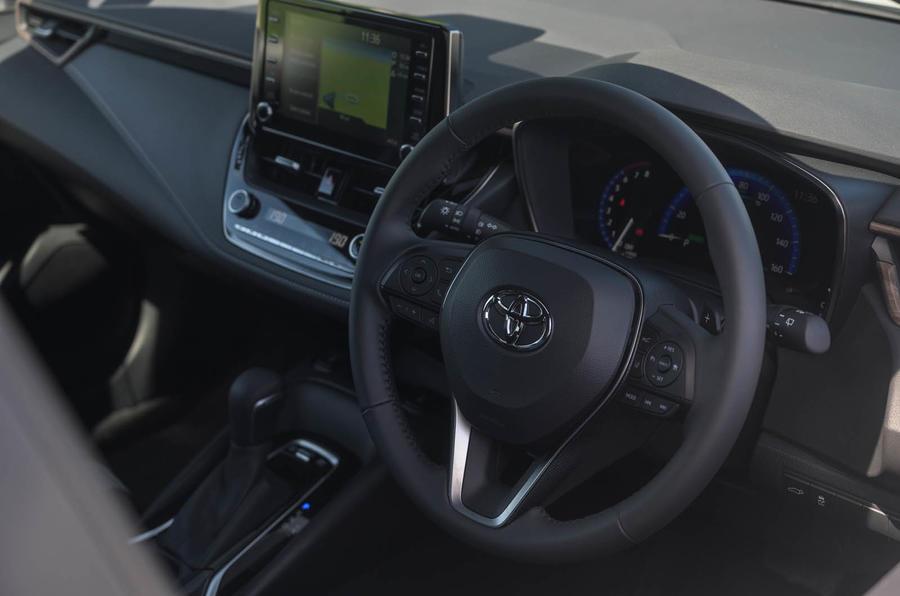 Toyota Corolla Trek 2020 UK first drive review - dashboard