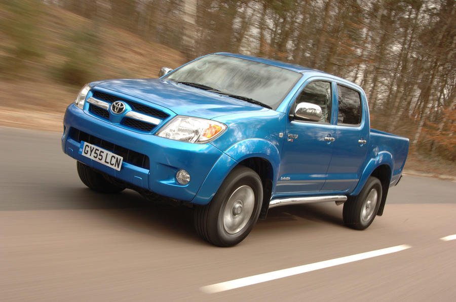 Toyota Hilux - hero front