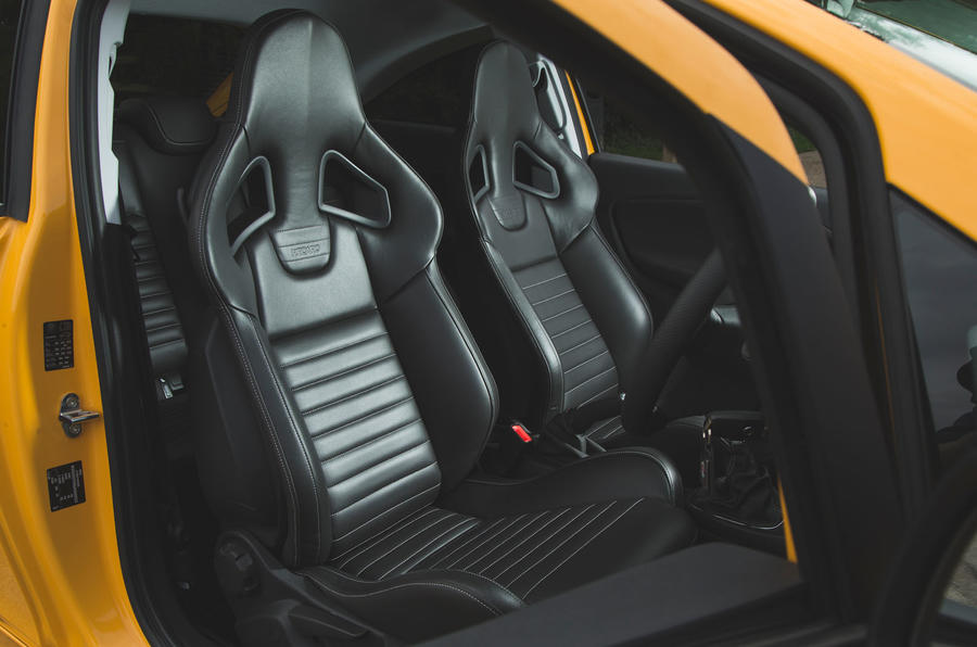 Vauxhall Corsa GSi 2018 UK first drive review Recaro seats