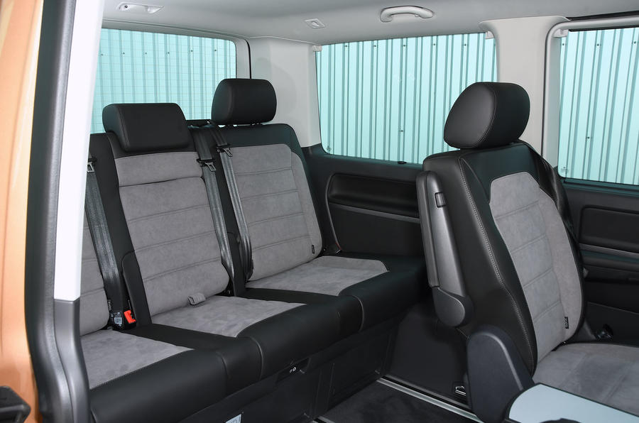 Volkswagen Caravelle 2020 UK first drive review - rear row