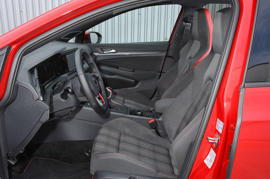 Volkswagen Golf GTI 2020 UK first drive review - cabin