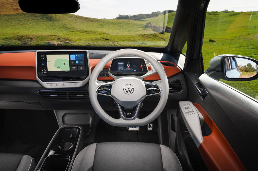 Volkswagen ID 3 2020 UK first drive review - dashboard