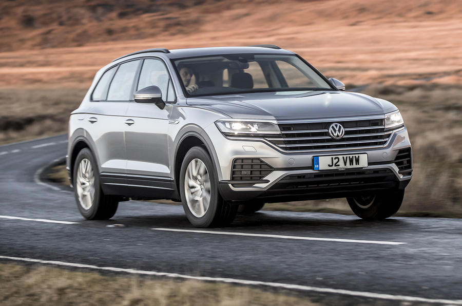 Volkswagen Touareg 2020 UK first drive review - on the road front