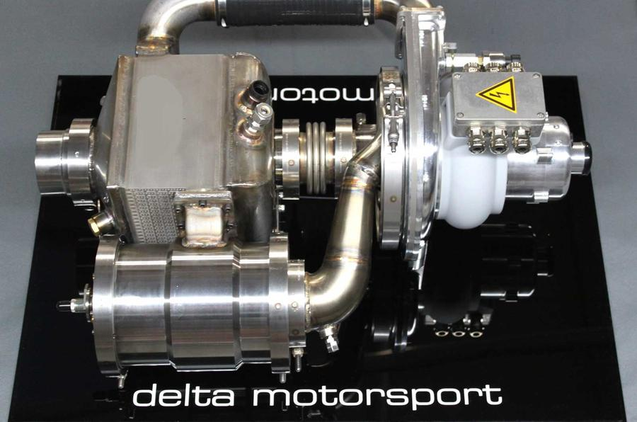 Delta Motorsport turbine range-extender technology