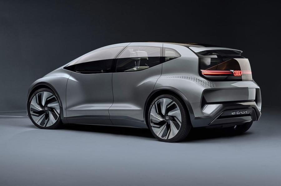 2019 Audi AI:ME concept rear