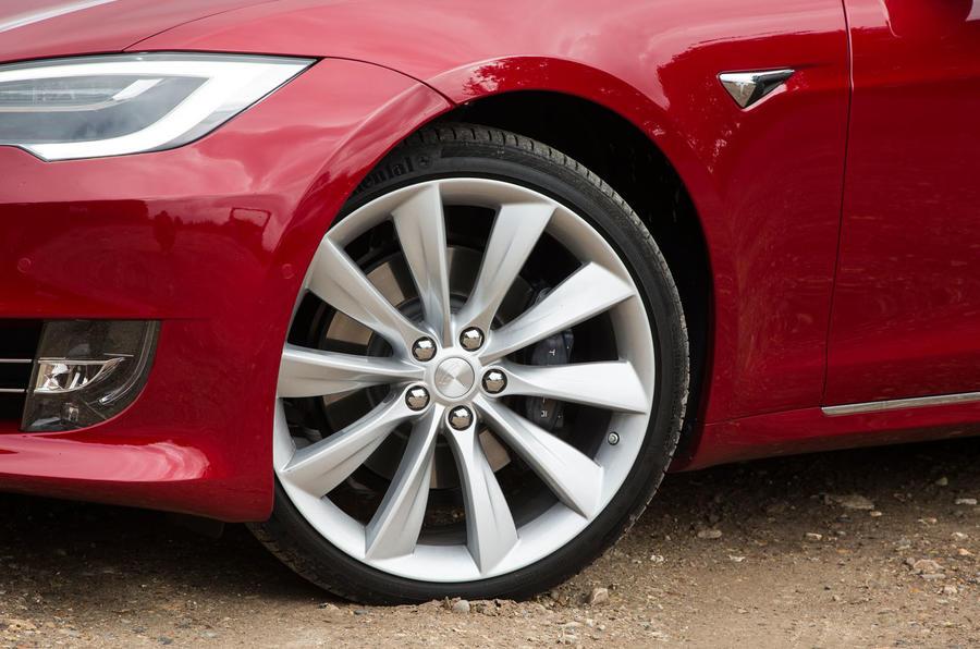 20in Tesla Model S 100D alloy wheels