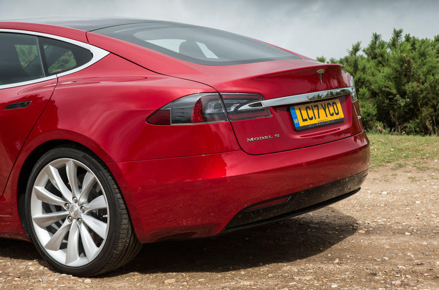 Tesla Model S 100D rear end