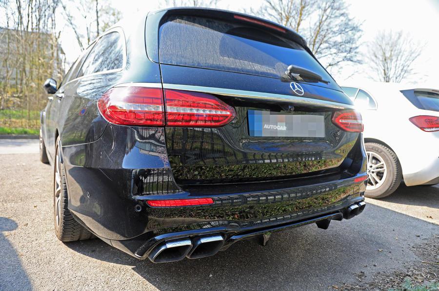 Mercedes-AMG E63 - spy shots
