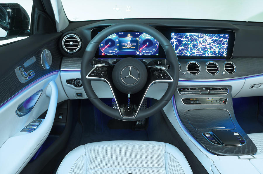 Mercedes-Benz E53 estate 2020 - interior