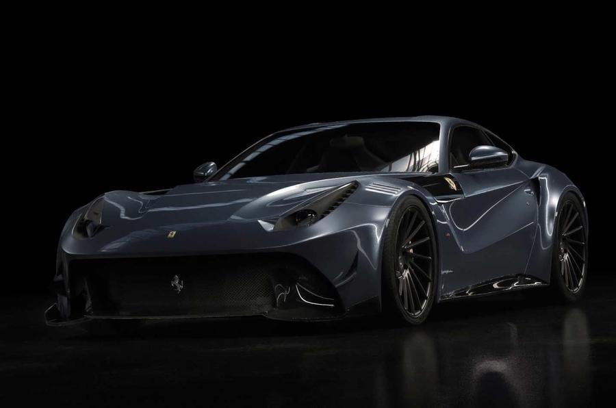 Ferrari-based supercar for the Privileged few