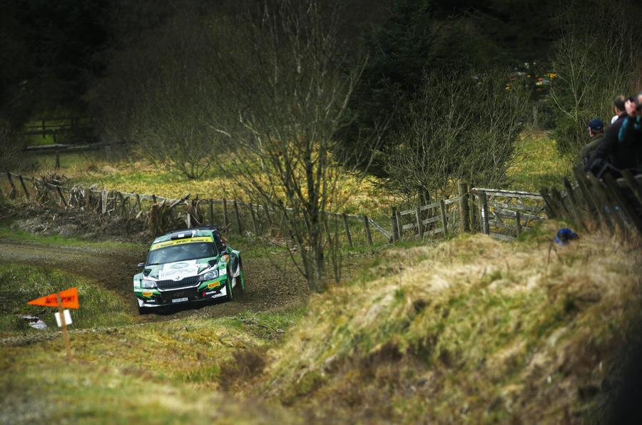 Skoda Fabia British Rally Championship