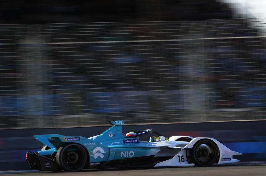 Nio Formula E racer