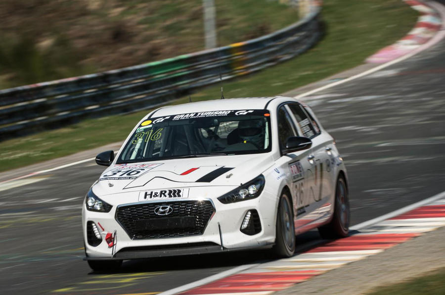 Hyundai i30N hot hatch to race in Nürburgring 24 Hours