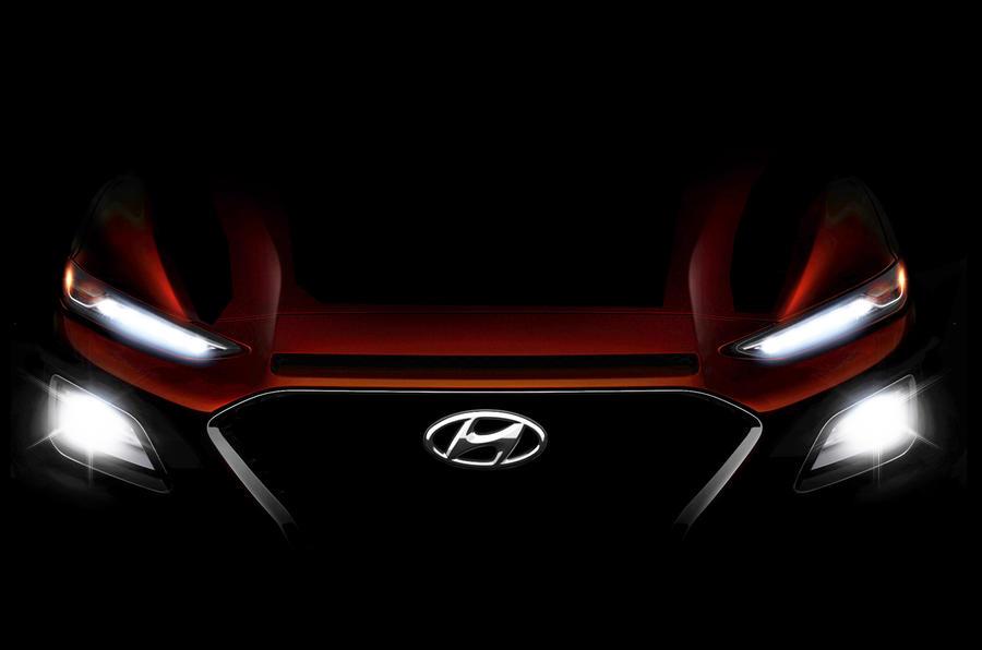 Hyundai Kona previewed ahead of summer reveal