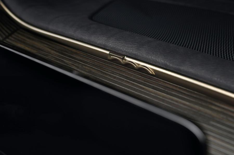 Fiat 500 Giorgio Armani - interior