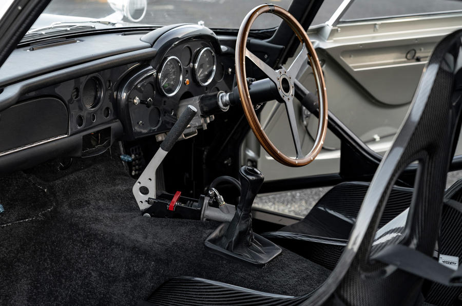 Aston Martin DB5 - interior