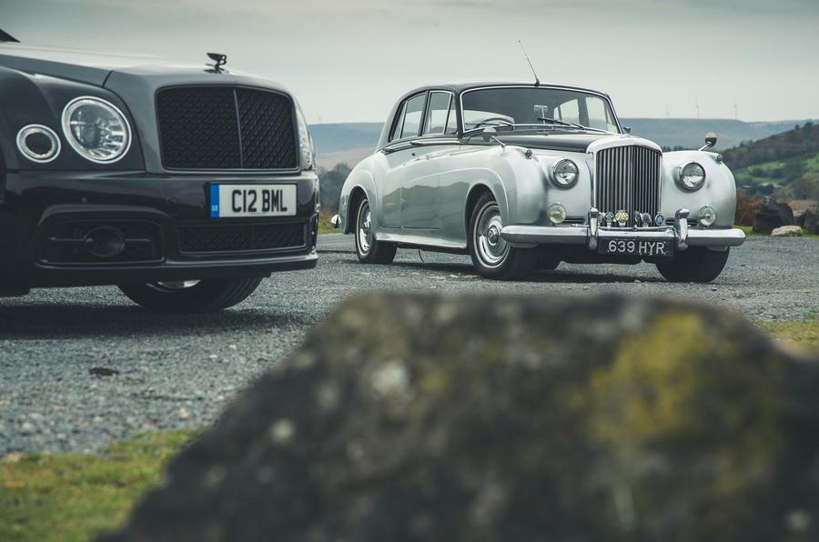 Bentley V8 feature