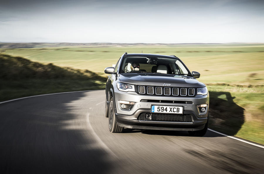 Jeep Compass 2018 UK review country front