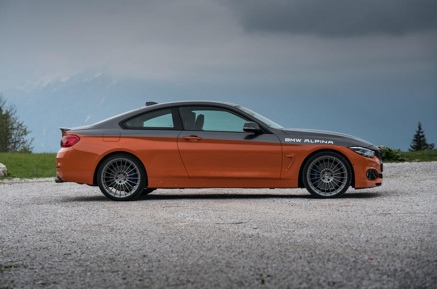 Alpina B4 99 Edition 2019 first drive review - static side