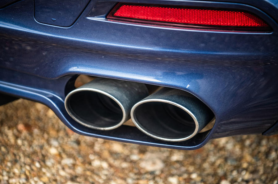 Alpina B5 Touring 2018 UK first drive review - exhausts