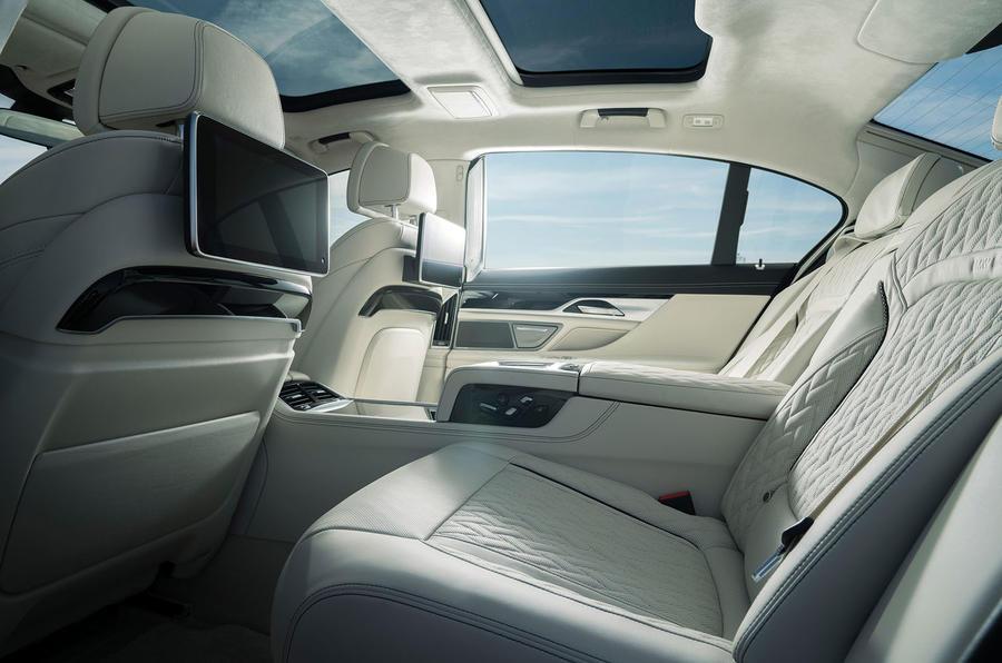 Alpina B7 2019 first drive review - rear seats