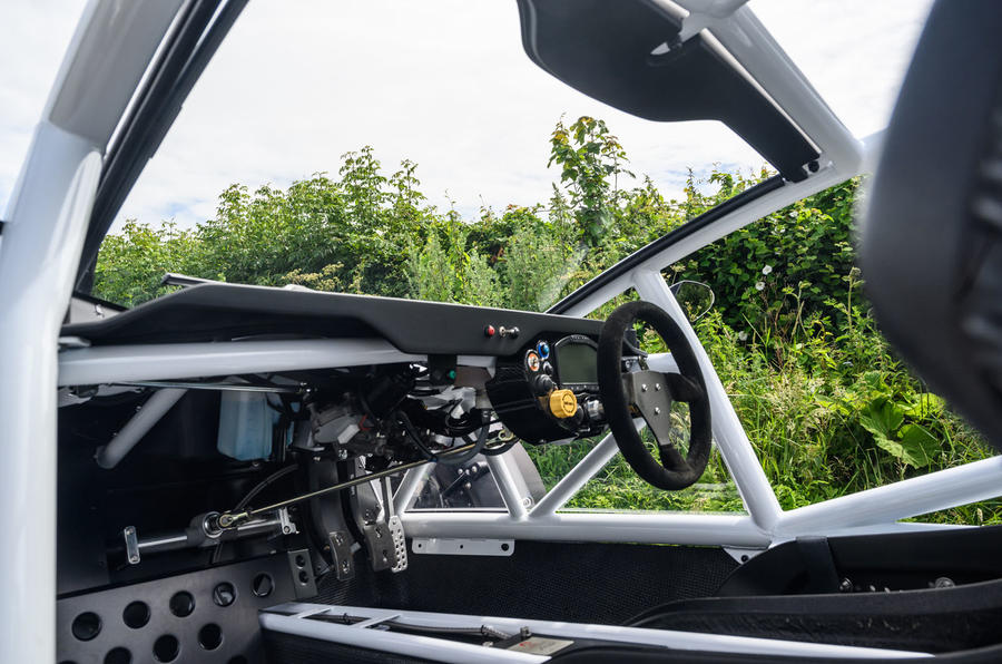 Ariel Nomad R 2020 UK first drive review - dashboard