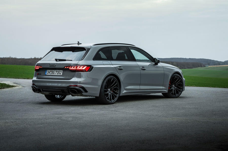 Audi RS4 Avant 2020 first drive review - static rear