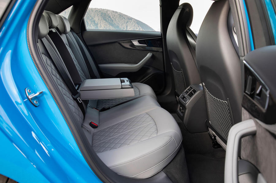 Audi S4 2019 first drive review - rear seats