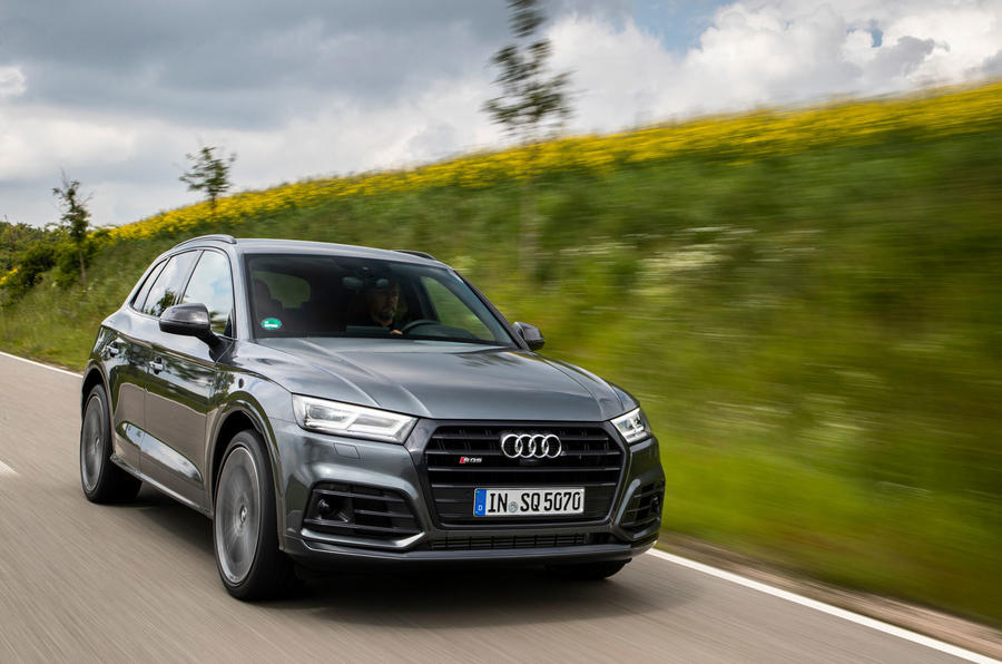 Audi SQ5 2019 first drive review - on the road front