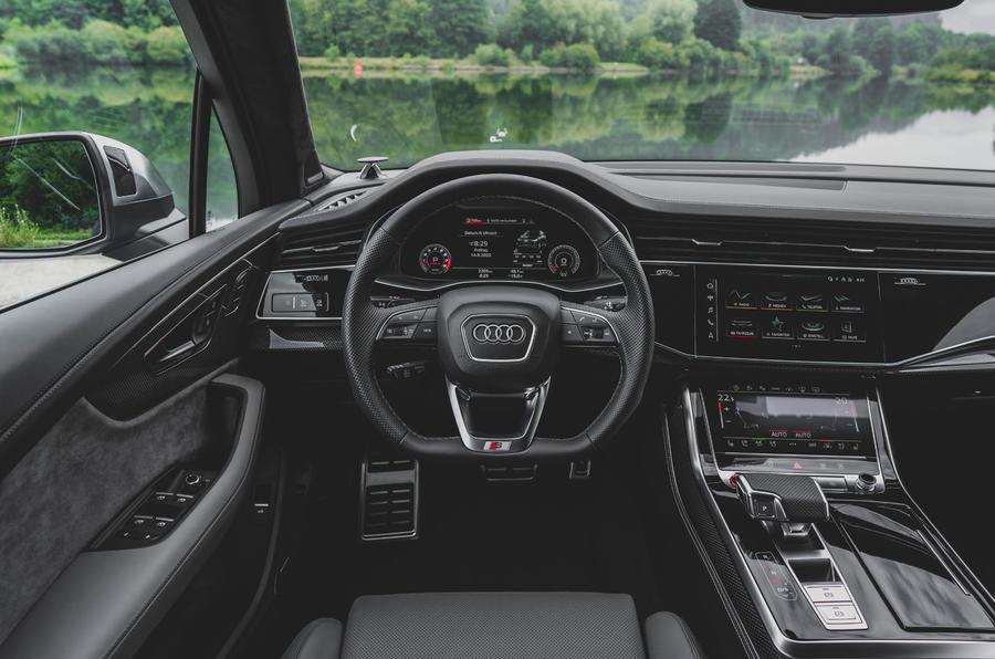 Audi SQ7 2020 : premier bilan de conduite - volant