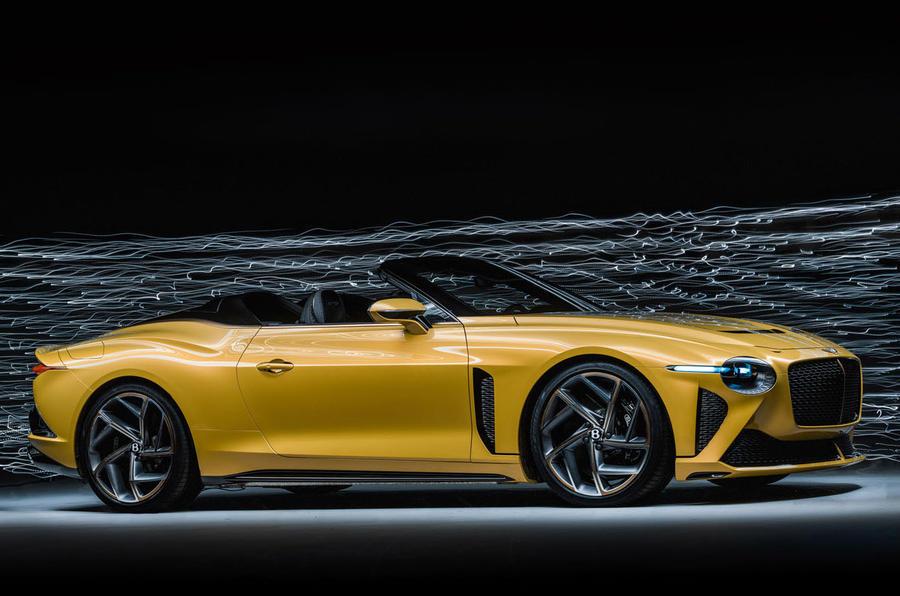 Bentley Bacalar 2020 - stationary side