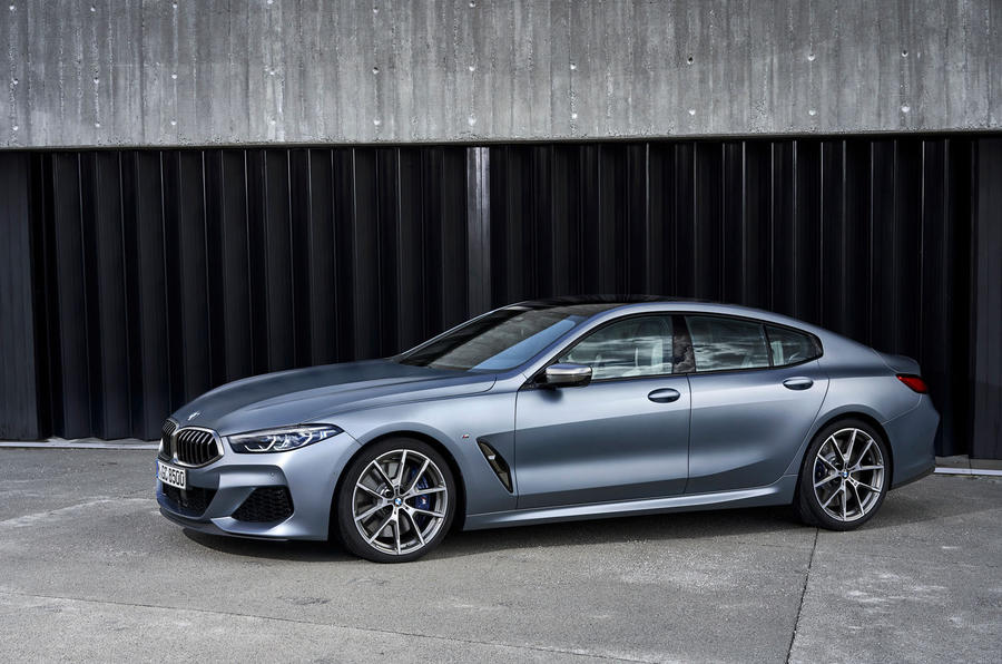 BMW 8 Series Gran Coupe 2019 first drive review - static front