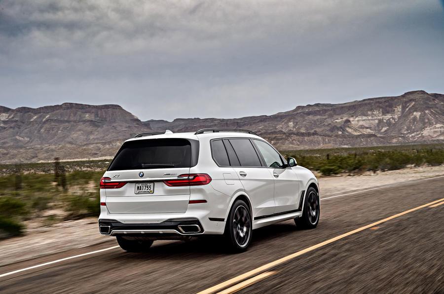 BMW X7 M50i 2020 : premier bilan de conduite - sur la route arrière
