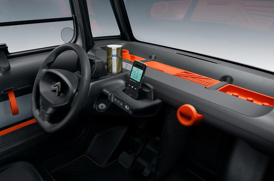 Citroen Ami 2020 - interior