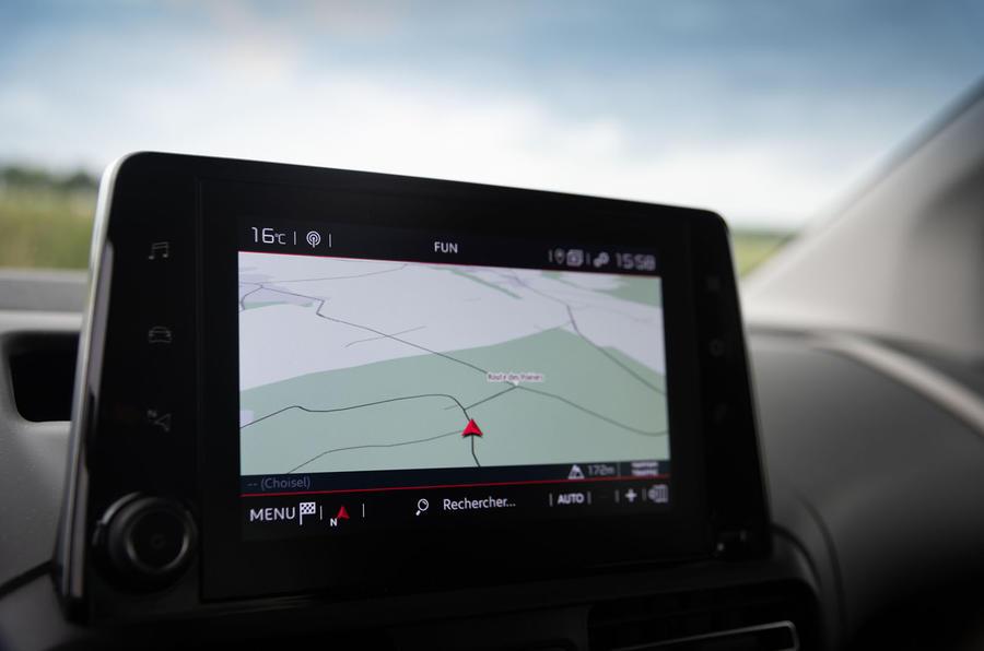 Citroen Berlingo 2018 first drive review infotainment