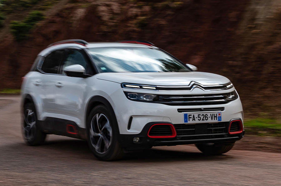 Citroen C5 Aircross 2018 first drive review - on the road front