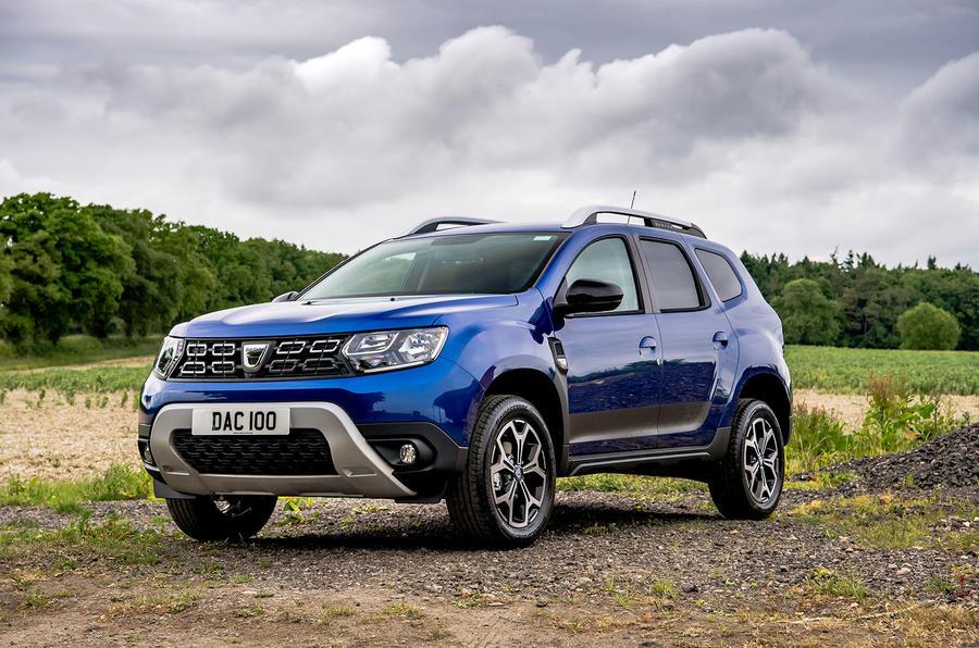 Dacia Duster Bi-Fuel 2020 UK first drive review - static