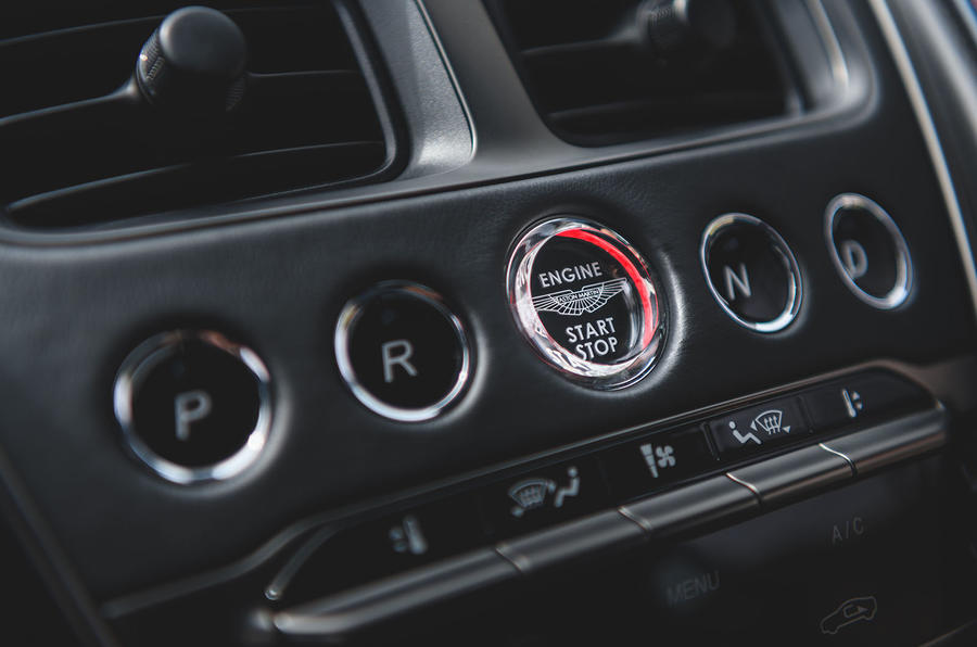 Aston Martin DBS Superleggera 2018 first drive review drive select