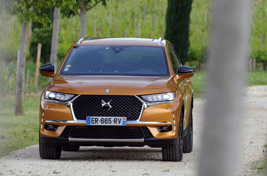 DS 7 Crossback PureTech 225 2018 review static front