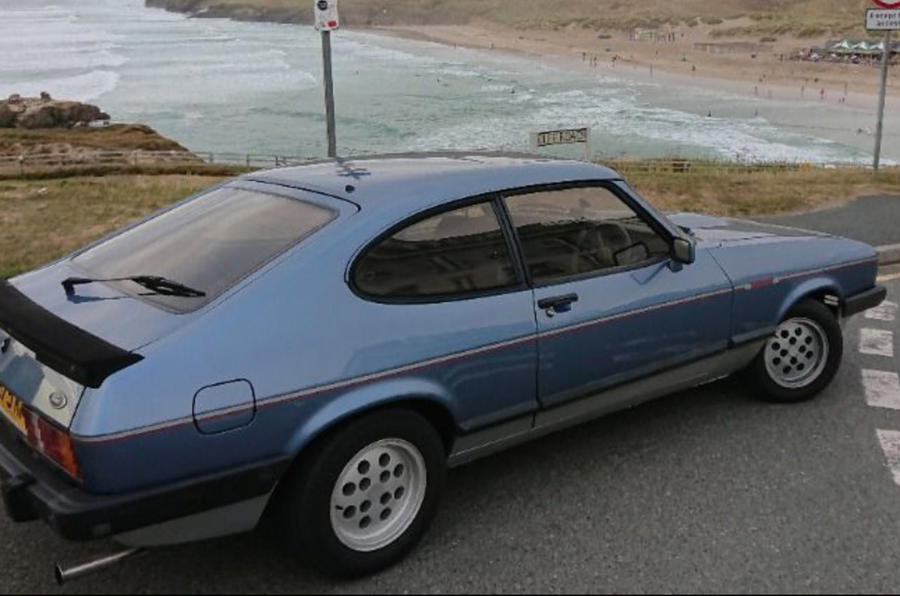 Ford Capri Mk3 - static side