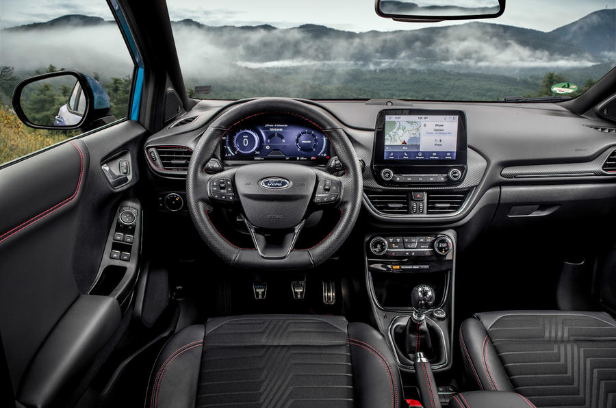 Ford Puma 2020 first drive review - dashboard
