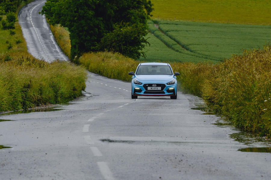 Hyundai i30 N 2020 UK first drive review - on the road