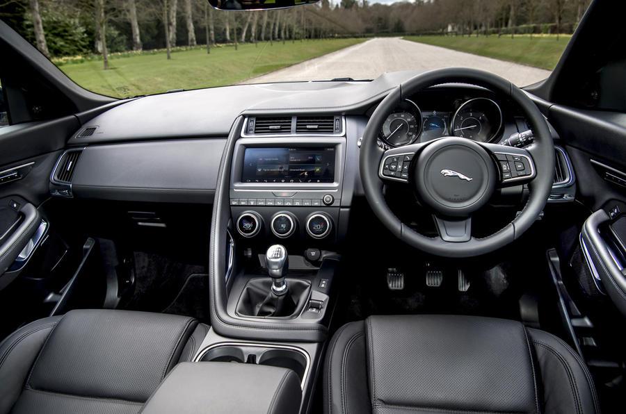 Jaguar F Pace Interior >> Jaguar E-Pace D150 FWD Manual 2018 UK review | Autocar