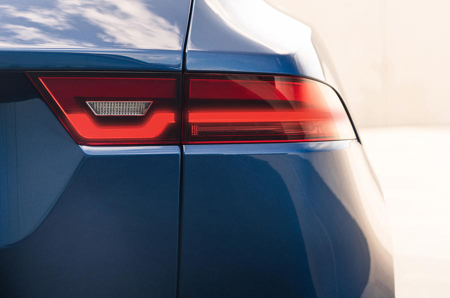 Jaguar E-Pace - rear light
