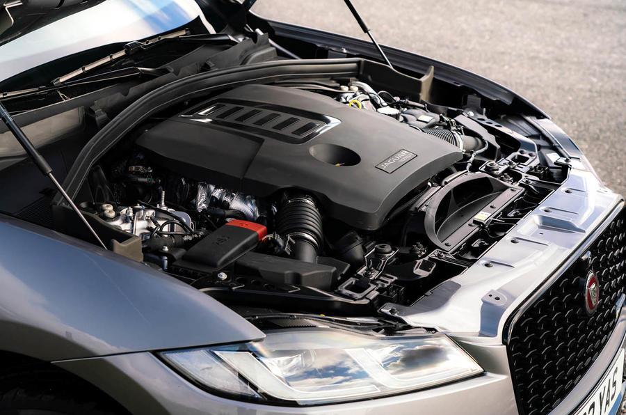 11 Jaguar F Pace 2021 : premier moteur d'examen de conduite au Royaume-Uni