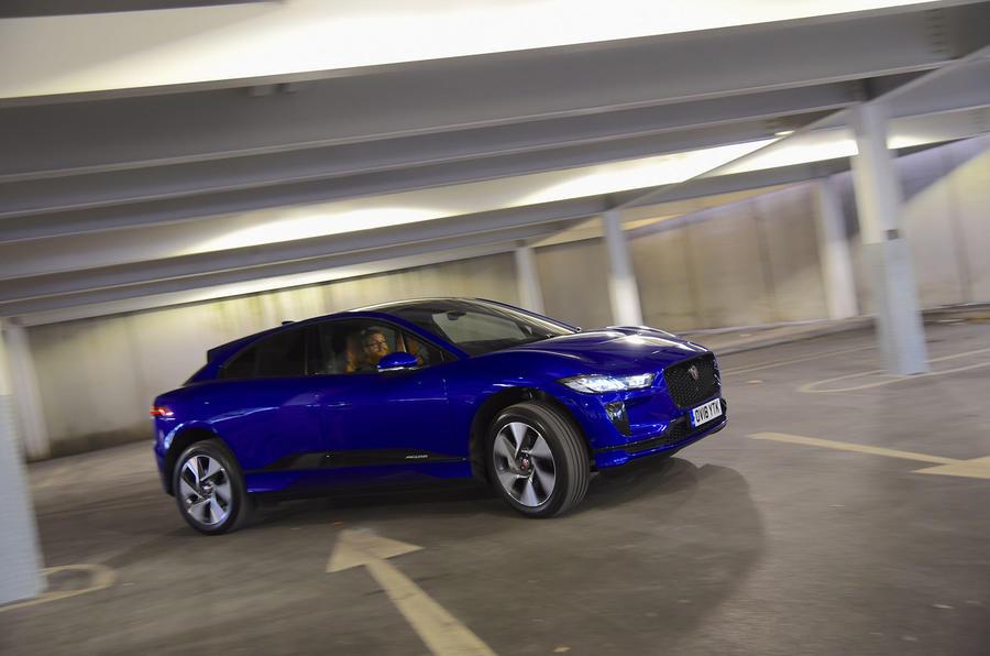 Jaguar I-Pace EV400 UK first drive review cornering